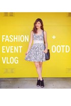 Inspirafashion YouTube Channel: Vlog #1 Le Tote x ThirdLove Fashion Event