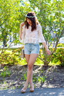 Ivory-vintage-chanel-bag-light-blue-aeropostale-shorts