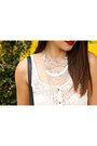 Navy-arizona-jeans-silver-chain-jcpenney-arizona-necklace
