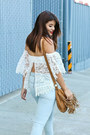 Light-blue-high-waisted-h-m-jeans-burnt-orange-charlotte-russe-bag