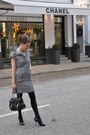 White-diysewing-dress-black-fendi-bag-black-gucci-heels