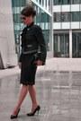 Navy-steffen-schraut-jacket-black-chanel-sunglasses-navy-zara-skirt