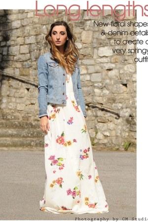 Zara dress - H&M blazer