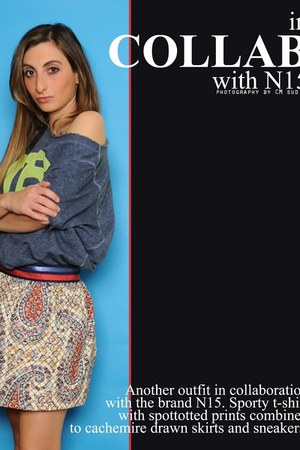 number 15 shirt - asos skirt