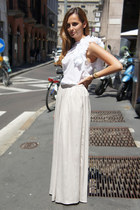 Zara skirt - Sisley top