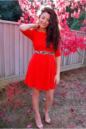 Lulus dress - Cathy Jean heels