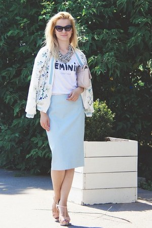 Zara jacket - Zara skirt
