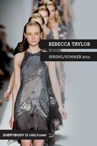 Rebecca Taylor Spring/Summer 2012