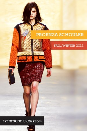carrot orange PROENZA SCHOULER jacket