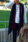 Camel-liz-claiborne-coat-ruby-red-thrift-store-skirt-ivory-sweater-black-h