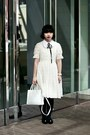 Black-marni-at-h-m-jacket-white-anthropologie-dress