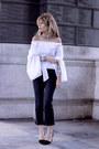 Black-topshop-jeans-black-massimo-dutti-heels-white-sheinside-blouse