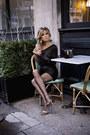 Black-topshop-bag-black-zara-top-black-topshop-skirt-mustard-zara-heels