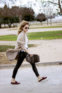 Camel-massimo-dutti-coat-white-topshop-shirt-black-bershka-pants
