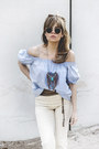Off-white-hm-jeans-sky-blue-primark-necklace-sky-blue-hm-blouse
