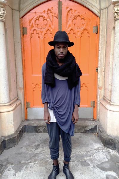 All Saints boots - Pendelton hat - wilfred shirt - Zara scarf