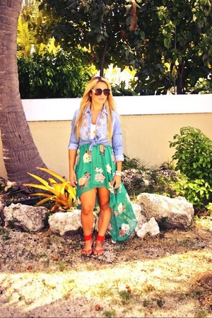 aquamarine Love Culture dress