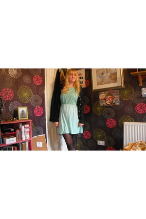Primark dress - Topshop cardigan
