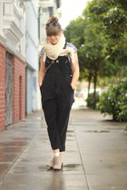 white striped vintage shirt - tan dolce vita desert boots