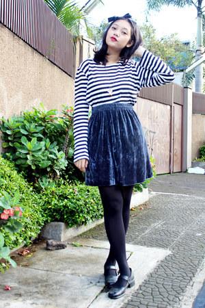 velvet DIY skirt