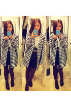 winners coat - H&M skirt - Forever 21 top