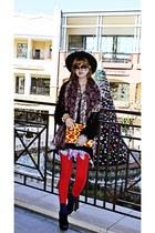 yellow ipad case Fashionary x Sibling bag - red H&M leggings