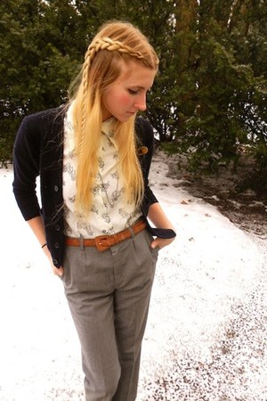 Urban Outfitters boots - thrifted vintage pants - thrifted belt - thrifted vinta
