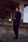 Black-marelbo-shoes-black-zara-coat-black-h-m-pants