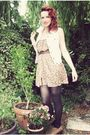 Brown-vintage-from-ebay-shoes-yellow-vintage-dress