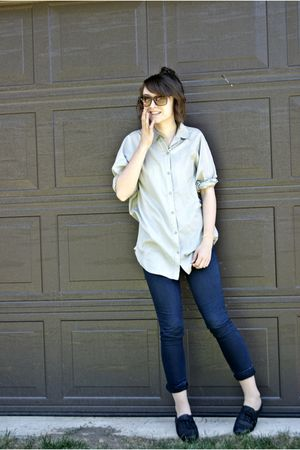blue Talula blouse