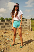 aquamarine Guess shorts