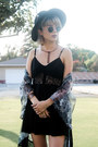 Black-lace-up-boots-black-lace-dress-tobi-dress-black-wool-hat