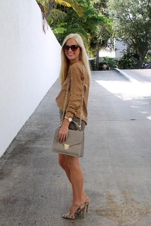 Massimo Dutti blouse - BP skirt - Sole Society pumps