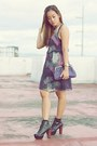 Black-giftsahoy-boots-purple-thrifted-dress-black-h-m-dress