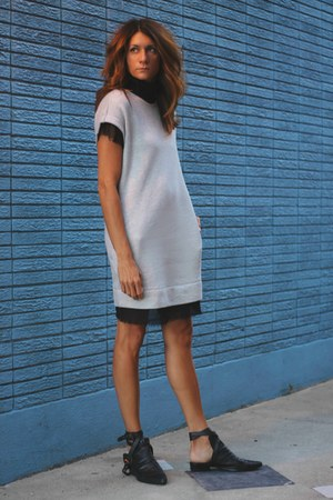 heather gray sweatshirt Diesel dress