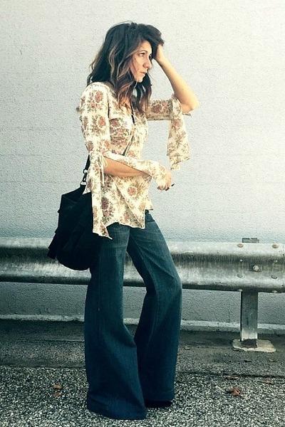 Miss Sixty jeans - vintage top