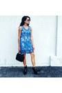 Blue-lace-sheer-dress