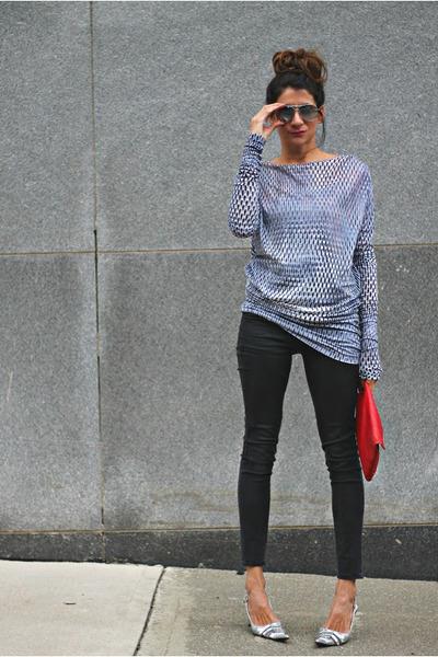 Diesel dress - Gap jeans - tano heels