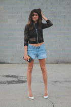 hm jacket - H&M shorts
