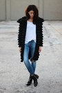 Black-ruffled-designer-jacket