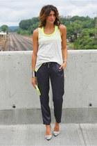 Gap shirt - vince pants
