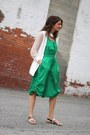 White-anthom-jacket-green-culottes-armani-exchange-romper