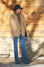 Citizens-of-humanity-jeans-brooks-brothers-blazer-vintage-top