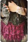 Black-h-m-jacket-black-jcrew-top-pink-necessary-objects-skirt-black-steve-