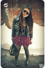 Black-h-m-jacket-black-jcrew-top-pink-necessary-objects-skirt-black-steve-