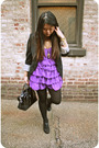 Black-white-house-black-market-blazer-purple-h-m-dress-black-kenneth-cole-sh