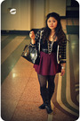 Black-kimchi-blue-blazer-black-jcrew-top-pink-theory-skirt-black-steve-mad