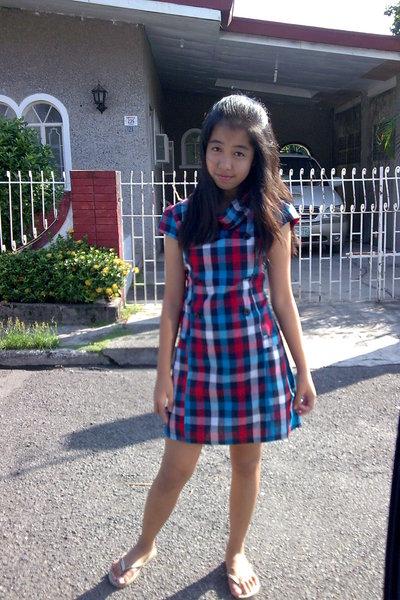 Checkerd Dress - Havaianas