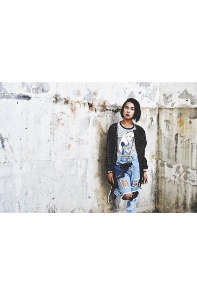 Forever 21 jeans - oversized Androgyne Manila jacket