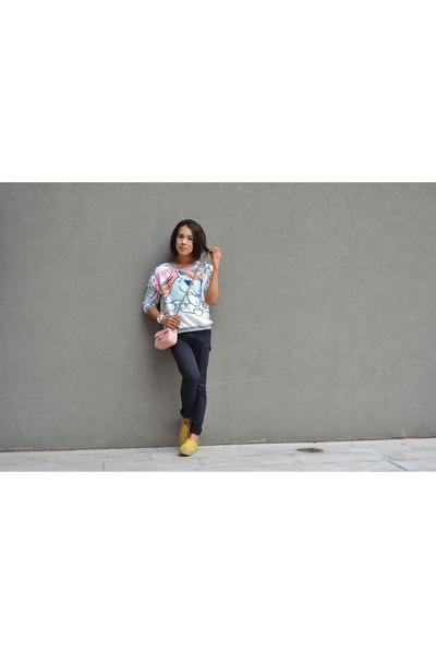 little pony Fudge Rock sweater - rubi shoes - black skinny Forever 21 jeans